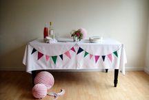 Birthdays: decorating