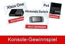 Konsolen -  Xbox One,  Nintendo Switch,  PS4