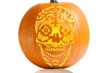 Skull Pumpkin Carving patterns