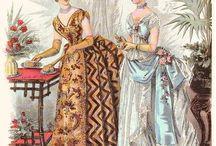 1880-1890 dresses