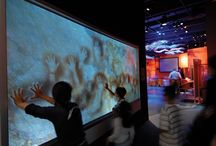 Human interactive exhibition