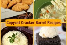 Copycat Cracker Barrel Menu Recipes / These Cracker Barrel copycat recipes are almost spot on! From copycat Cracker Barrel hashbrown casserole recipes to copycat Cracker Barrel biscuit recipes, copycat Cracker Barrel side dishes to easy dessert recipes, you'll find a ton of homemade versions for your favorite Cracker Barrel menu items on this board. / by AllFreeCopycatRecipe