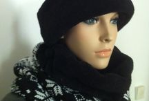 "Neck warmers and cap by ""amelita.hu"" / Very, very, very hot Very, very, very soft"