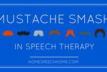Speech Therapy Thanksgiving / November/Movember it's all the same...Let's EAT! :)
