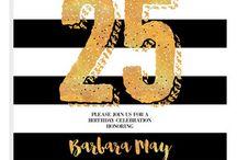 My Birthday Invites 25