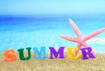 zomer en strand