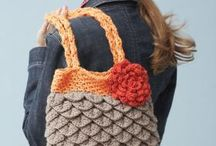 вязанные сумки