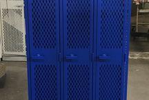 North High School - Minneapolis, MN #DeBourgh #Lockers / #AngleIron #BlueHammer #SentryOneLatch #DiamondPerforation #5KnuckleHinge #SlopeTop #DeBourgh #Lockers
