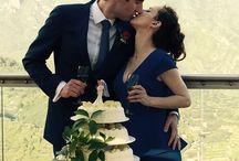 Adam & Katarzyna - 30th May 2015 / Wedding day, blue and red colors, Hotel Bonadies, Ravello, Sposa mediterranea, Lux Weds, Federica Wedding Planner