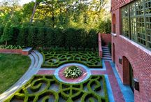 "Garden Design / ""A garden is where life happens. It's a place were you learn to walk. Gardens teach us patience & force us to slow down & smell the roses. We grow & learn from our mistakes. When we think that we finally get an understanding of them we begin to put down roots. Gardens will always change on us so that we continually learn from them. They can be a place of frustration but they are mostly a place of peace. When life creates sudden changes your garden will be a place of refuge. In sadness or despair you can always rip the weeds from the soil & water the ground with your tears. The garden will always be there you just need to release it from the soil. Life & gardens have their seasons & in the end when all is said & done a garden is a place that can teach you to love & to live."" / by Michelle Shrader"