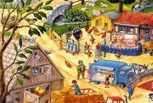 dedina a mesto