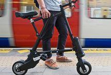 Electric kick bike scooter