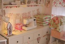 Sewing Room Bliss / by Debbie is so Busy