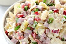Cold snacks / Pasta salade Hawaï