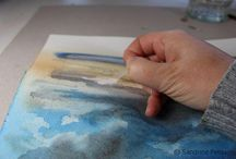 Painting and drawing methods and materials