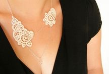 DIY necklaces...
