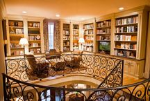 Libraries & Bookcases  / by Maryann Rizzo