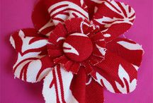 Fabric Flowers / by Amanda Niederhauser/Jedi Craft Girl