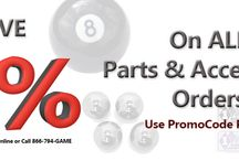 Banners / All Game Room Guys' promotions and discounts - Current an past!