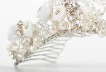 Our Bridal Tiaras / Designs by Irene & Ozzie  / by Irene and Ozzie