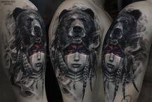 Tattoo Girl Shaman