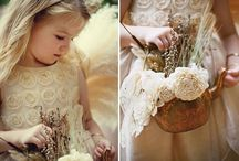 Flower Girls & Ring Bearers  / For the little people on your special day.