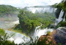 Cataratas d'Iguaçu / Les chutes d'eau d'Iguaçu sont une veritable merveille de la création. Un paradis terrestre !