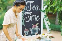 Pieta's Fourth Birthday Tea Party Planning & Ideas / by Joelle Osterhaus