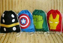 cumple superheroe