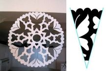 paperit snowflakes
