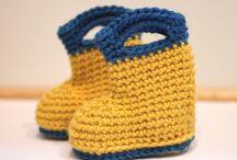 Baby slippers / Crochet slippers