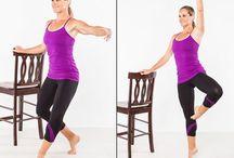 Ballet inspired exercises