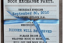 Book Swap Party / by Maryanne Richards