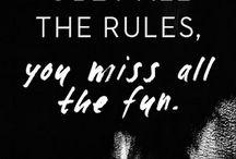 Quotes that describe me  / by Danielle Schmalfeldt