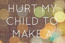 non-abusive good parenting quotes and art