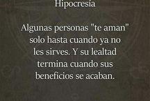 Hipocrecía-Falsedad...
