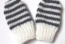 Crocheting, knitting & sewing