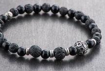 BRACELETS / Bracelets in silver sterling and natural stones