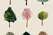 tegninger af natur