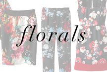 Floral Lookbook / Celebrate spring in some of our favorite floral fashion.