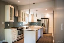 Renovation - Tanner / Contemporary design ideas for remodeling a home and renovating a kitchen, bathroom and main floor.
