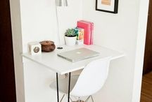 A place to: Desk