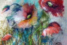 Felted tapestry ideas