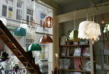 Olav / cardboard lamp made in Tilburg.