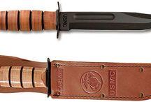 Knives and bajonets