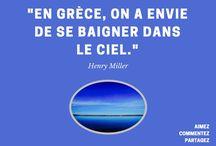 Citations / De merveilleuses citations en lien avec la Grèce ! :-)