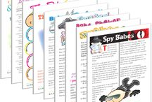Baby Shower Printable Games / Did you know that baby showers have been around for thousands of years, dating back to Grecian times? If you're the host of an upcoming baby shower, continue the tradition of timeless baby shower games by printing some of ours!  Will you have raffles and prizes at your baby shower? Print off a game and incorporate it into the celebration!