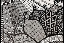 zetangle / drawing