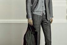 0 light grey suit