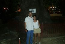 my wife and me